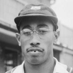 Alf Valentine became the first West Indian to take 100 Test wickets when he bowled Jim Laker in his 19th Test at Bourda 1953-54